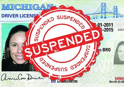 License Suspension and restoration